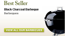 Black Charcoal Barbeque